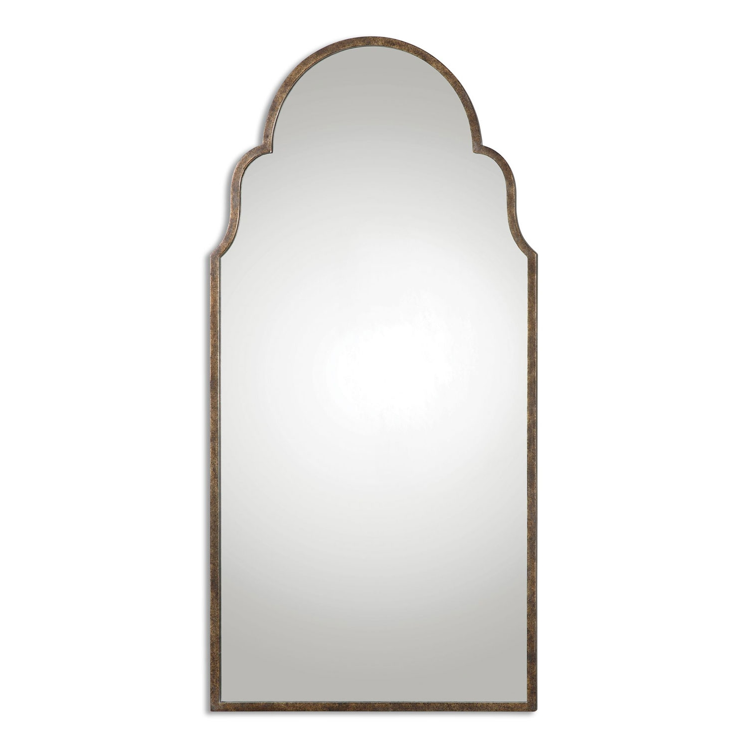 Arched Wall Mirror Wall Shelves With Regard To Arched Wall Mirror (Image 4 of 15)