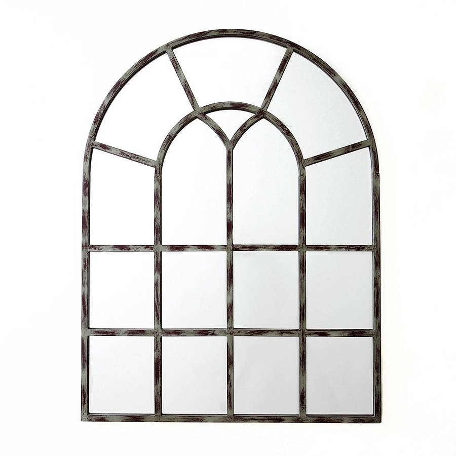Arched Window Mirror Roselawnlutheran Pertaining To Window Arch Mirror (Image 6 of 15)