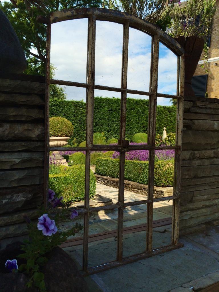 Architectural Window Mirrors Regarding Garden Window Mirror (Image 2 of 15)