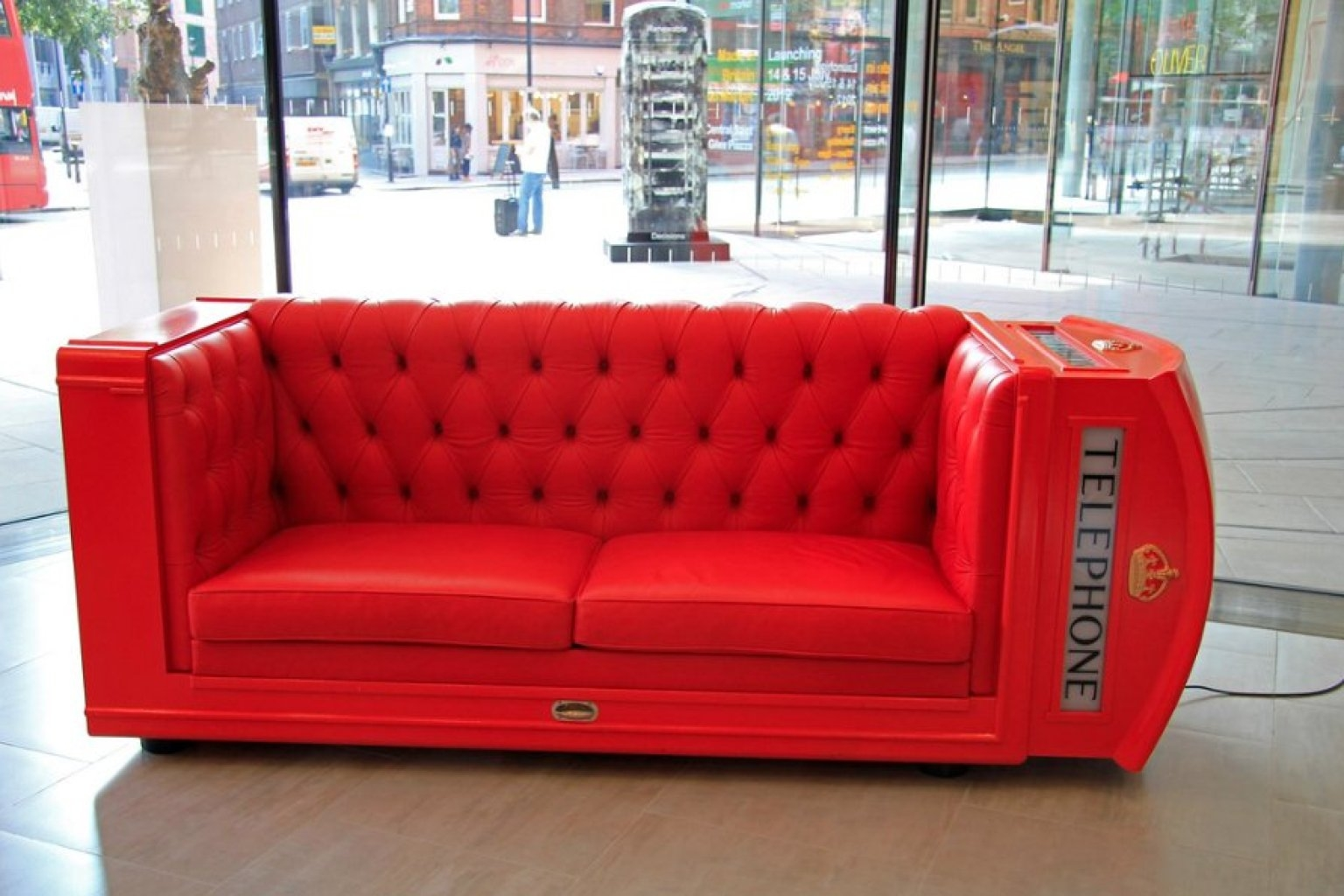 Architecture Designs Burnt Orange Leather Sofa Designer Couches Inside Cool Small Sofas (Image 2 of 15)