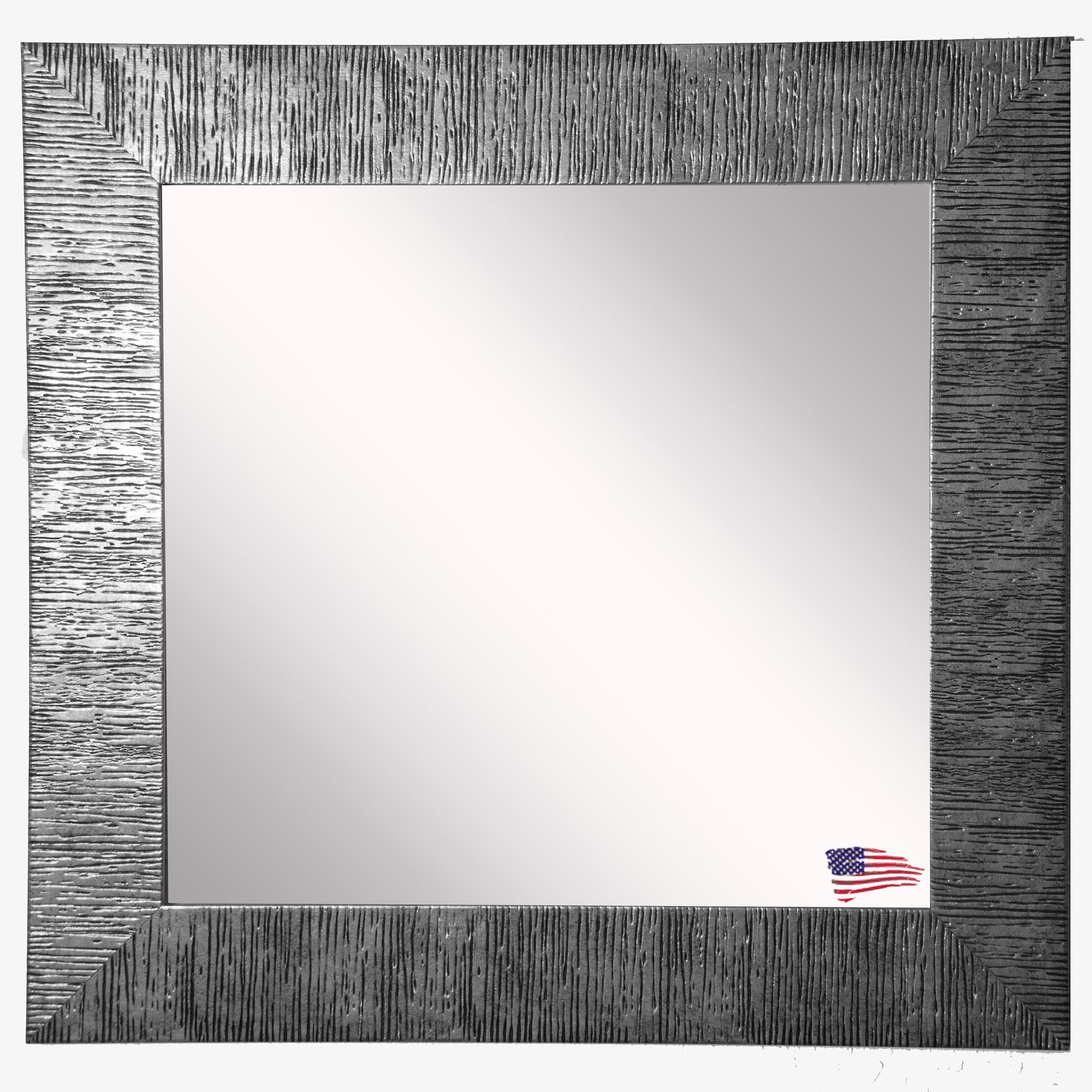 Ariel Square Wall Mirror Reviews Joss Main Regarding Square Wall Mirror (Image 2 of 15)