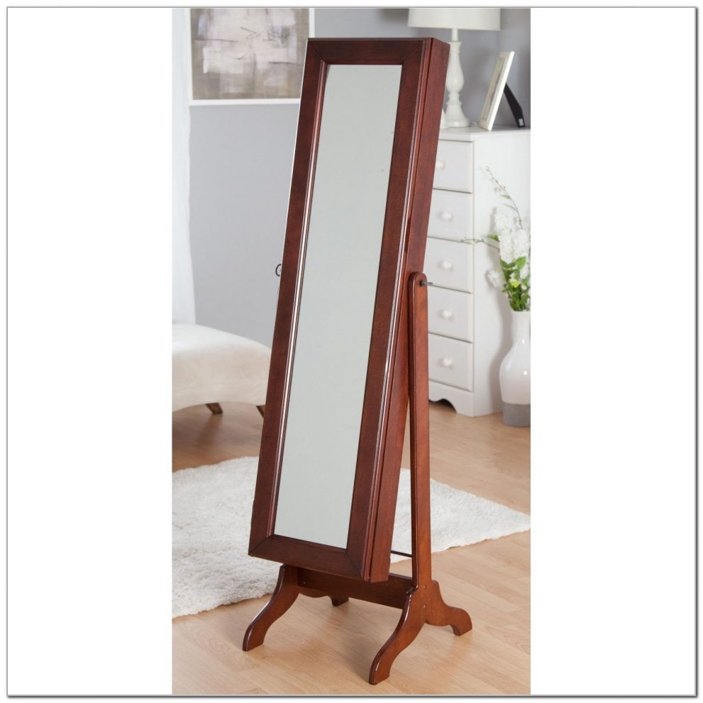 Armoire Standing Mirror Jewelry Armoire Target Image Of White Pertaining To Big Standing Mirror (Image 1 of 15)