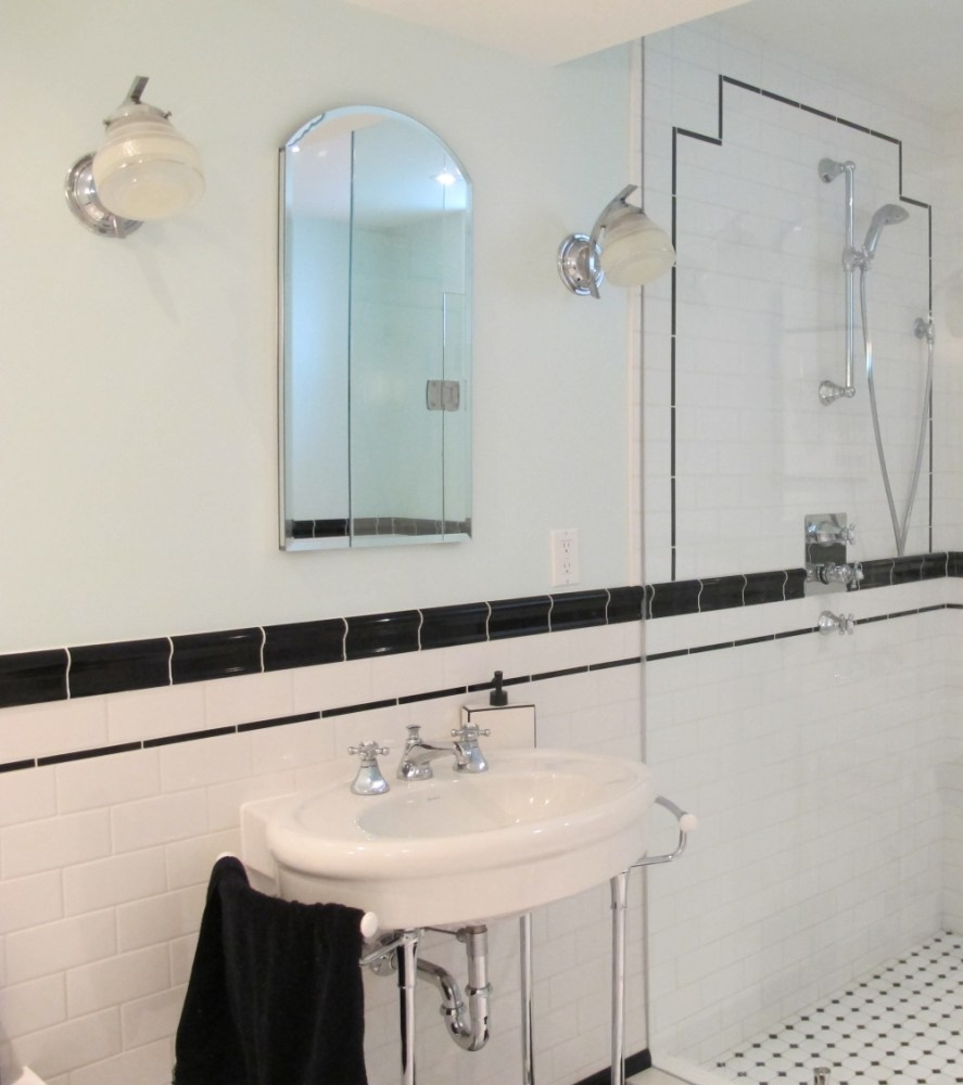 Art Deco Bathroom Mirror Home Design Ideas In Deco Bathroom Mirror (Image 3 of 15)
