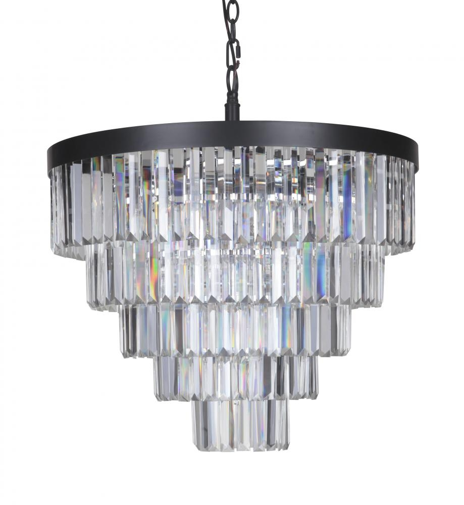Art Deco Chandelier Large 572415 Savio Lighting For Large Art Deco Chandelier (Image 3 of 15)