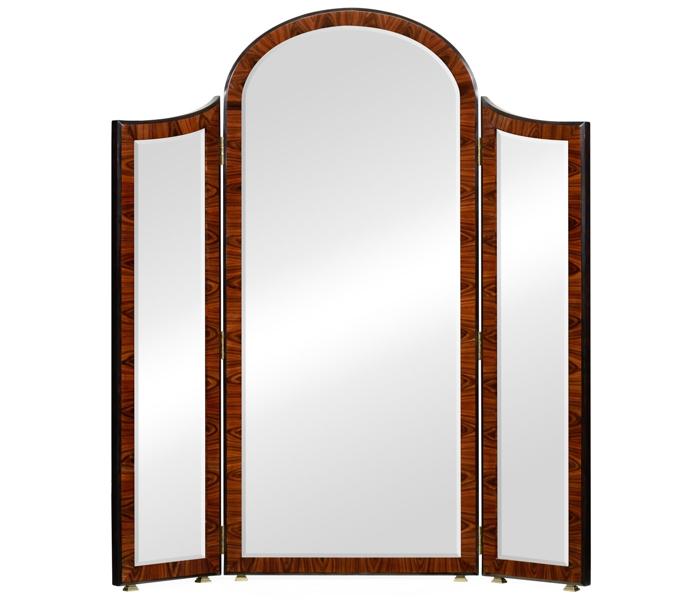 Art Deco Full Length Triple Dressing Mirror Swanky Interiors With Art Deco Full Length Mirror (View 7 of 15)
