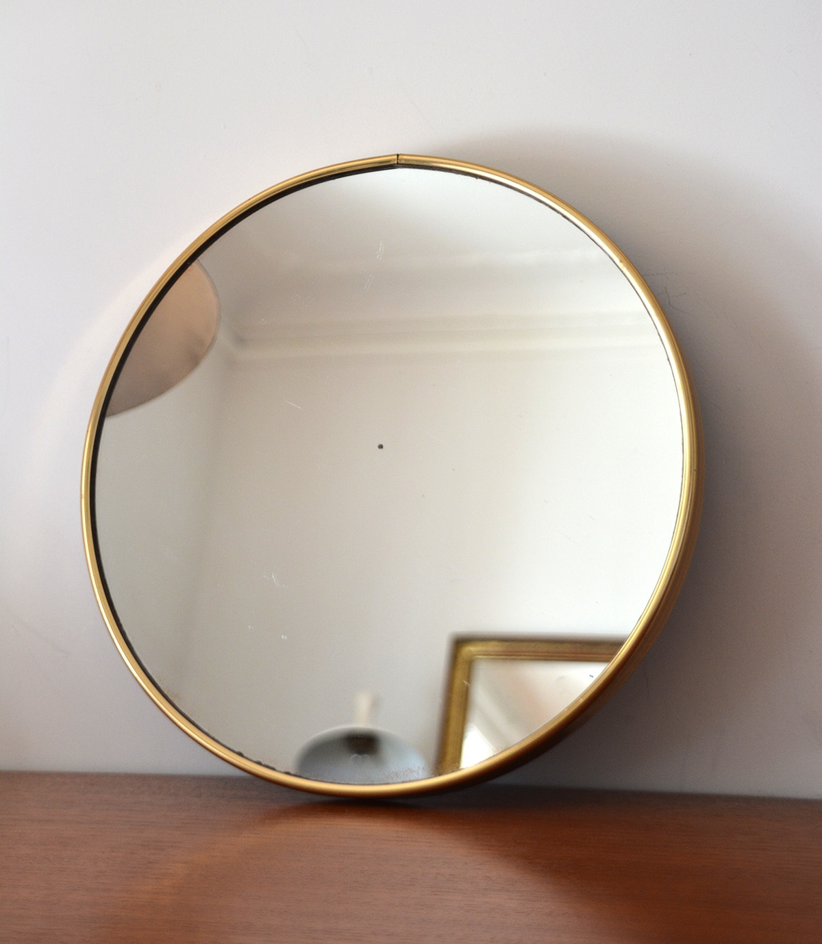 Art Deco Mirror Minimalist Lotusep Throughout Round Contemporary Mirror (Image 1 of 15)