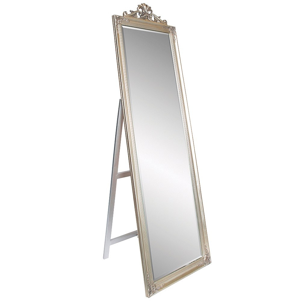Art Deco Mirror Nz Cancun 90x60cm Mirror Art Deco Coffee Inside Dress Mirrors Free Standing (Image 4 of 15)