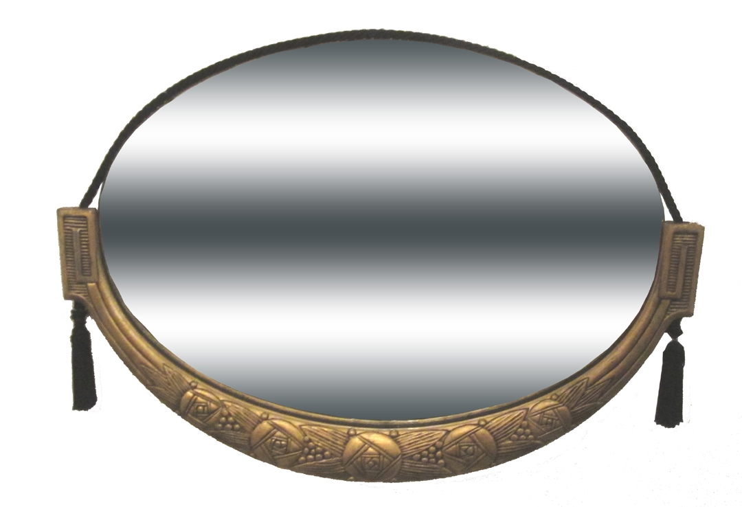 Art Deco Mirrors Modernism Gallery Pertaining To Round Art Deco Mirror (Image 4 of 15)