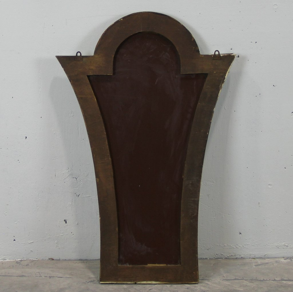 Art Deco Venetian Mirror For Sale At Pamono Inside Art Deco Venetian Mirror (Image 7 of 15)