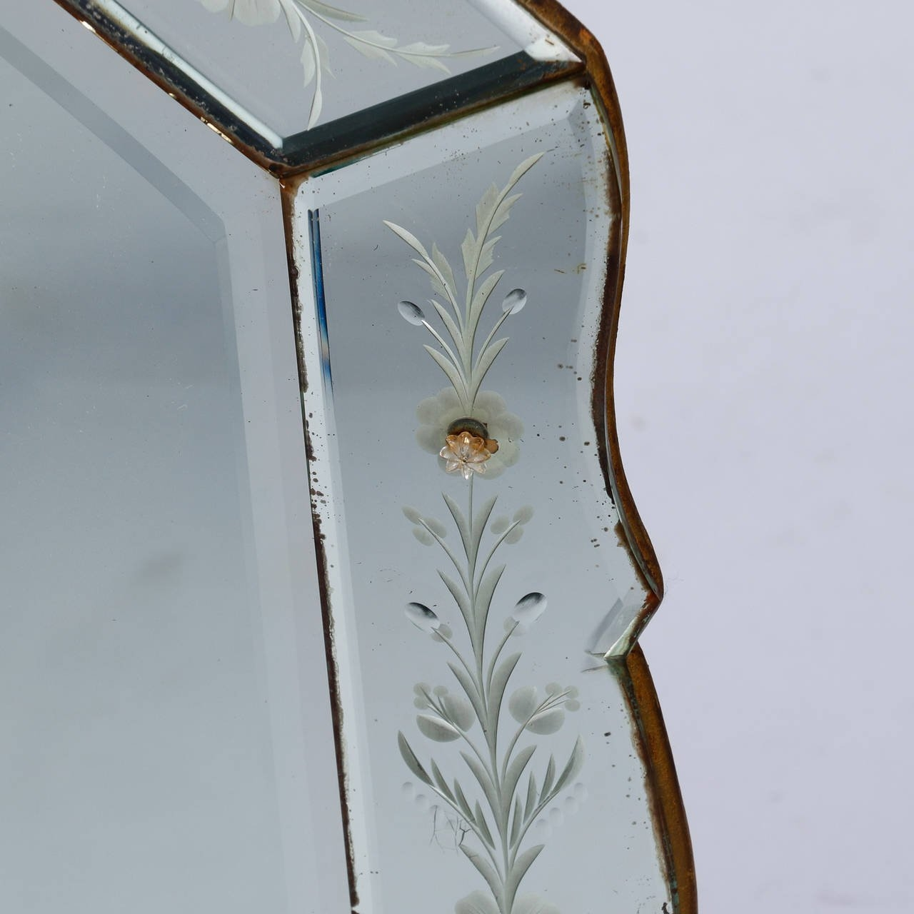 Featured Image of Art Deco Venetian Mirror