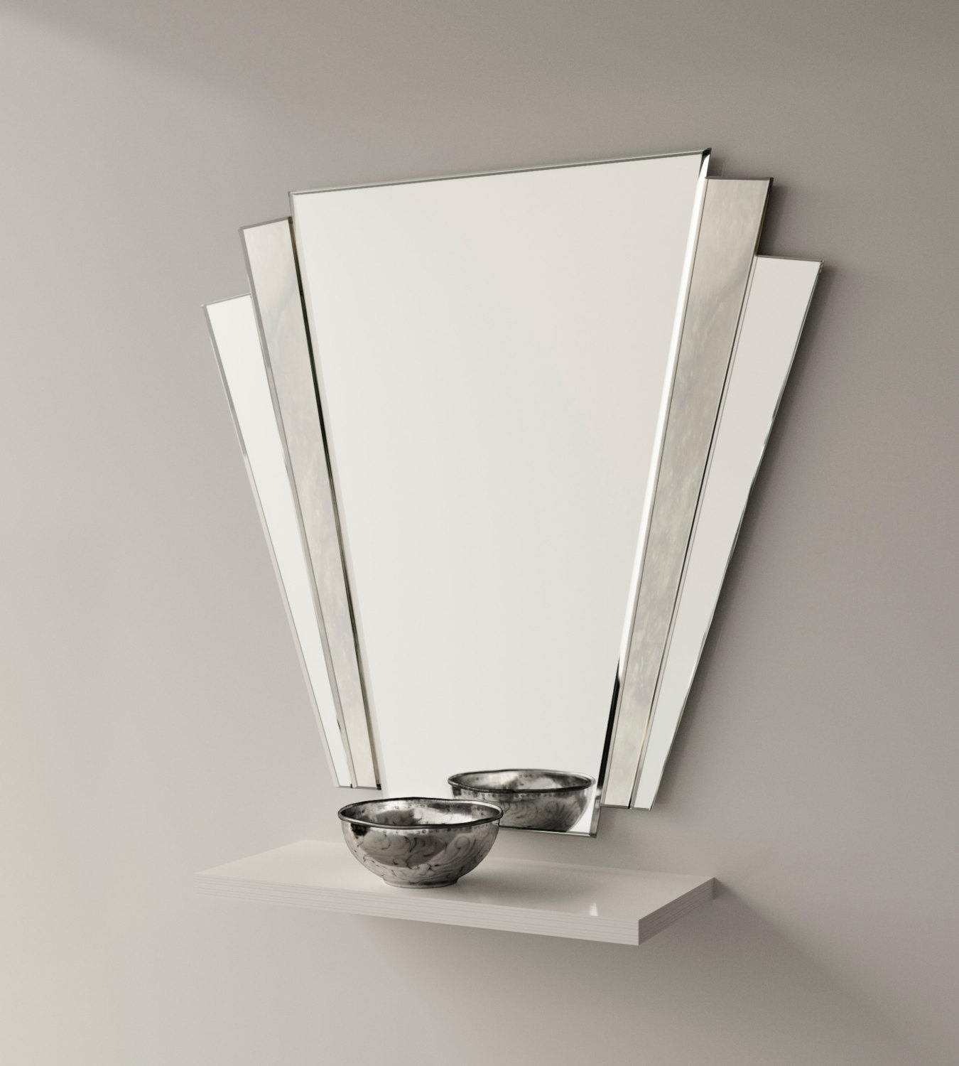 Art Deco Wall Mirror Inarace Pertaining To Art Nouveau Mirrors For Sale (View 9 of 15)