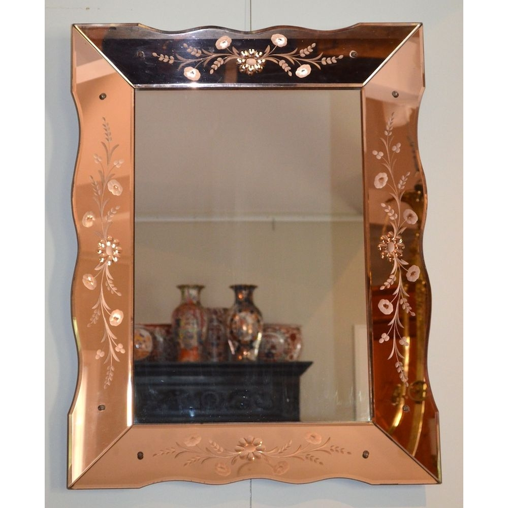 Art Deco Wall Mirrors Inarace Within Art Deco Venetian Mirror (Image 11 of 15)