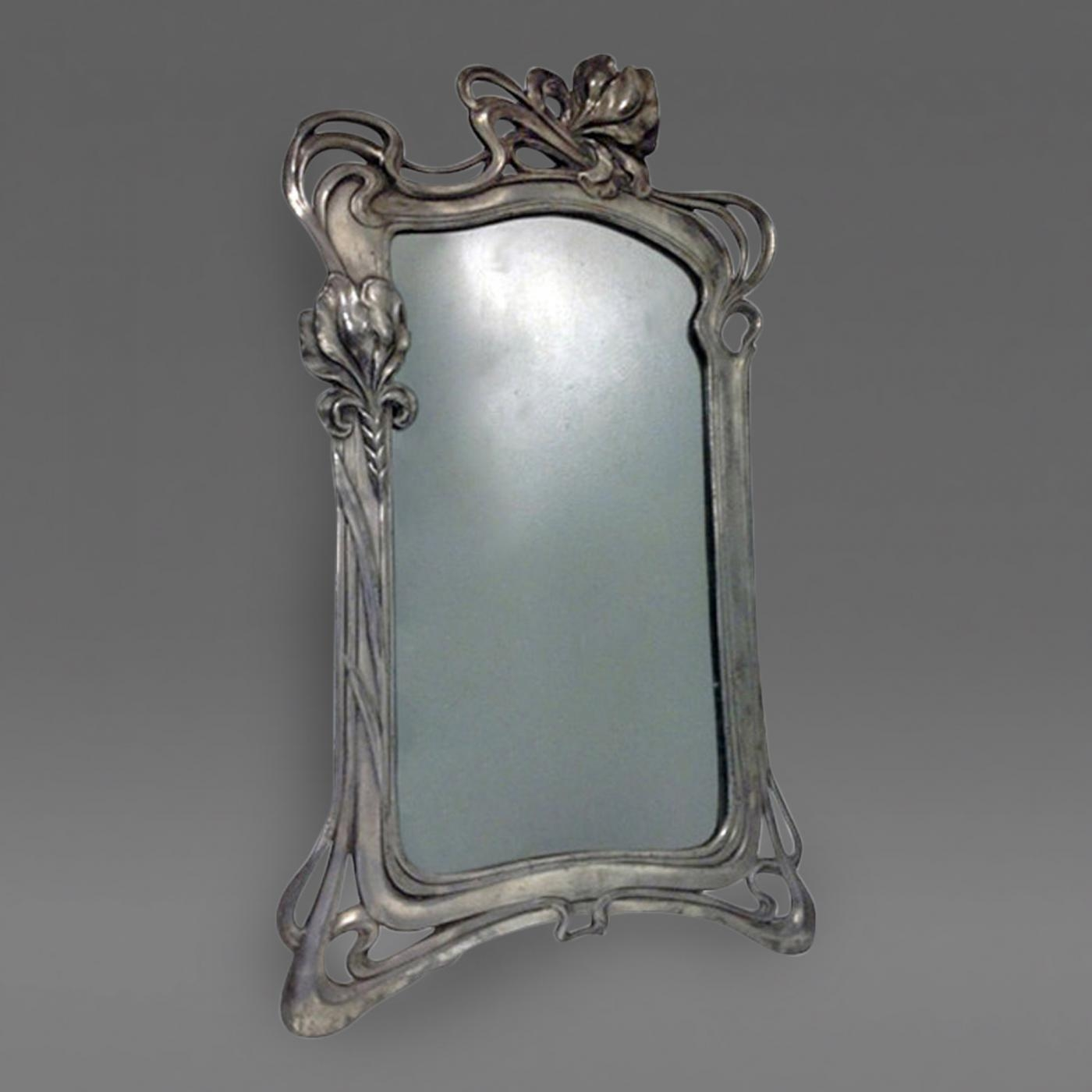 Art Nouveau Mirror Argentor C1900 Within Art Nouveau Mirrors (View 12 of 15)