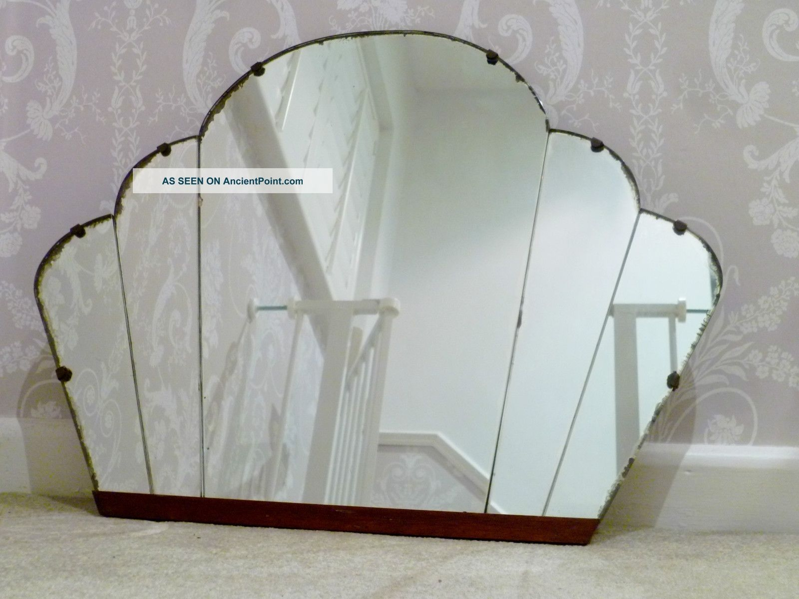 Art Nouveau Wall Mirror Inarace In Buy Vintage Mirror (Image 3 of 15)