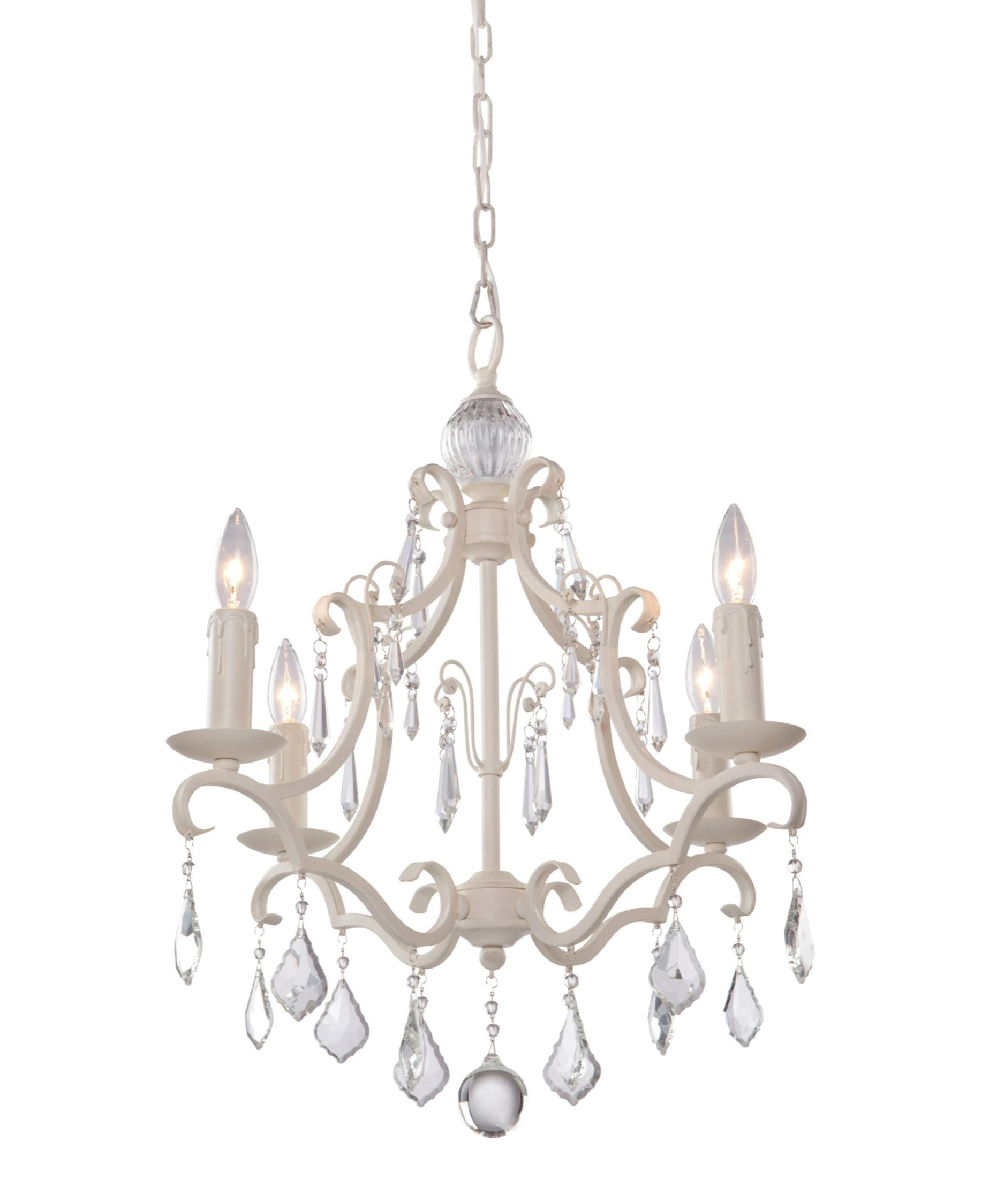 Artcraft Cl1574 Vintage 17 Inch Wide 4 Light Mini Chandelier Pertaining To Chandeliers Vintage (Image 5 of 15)