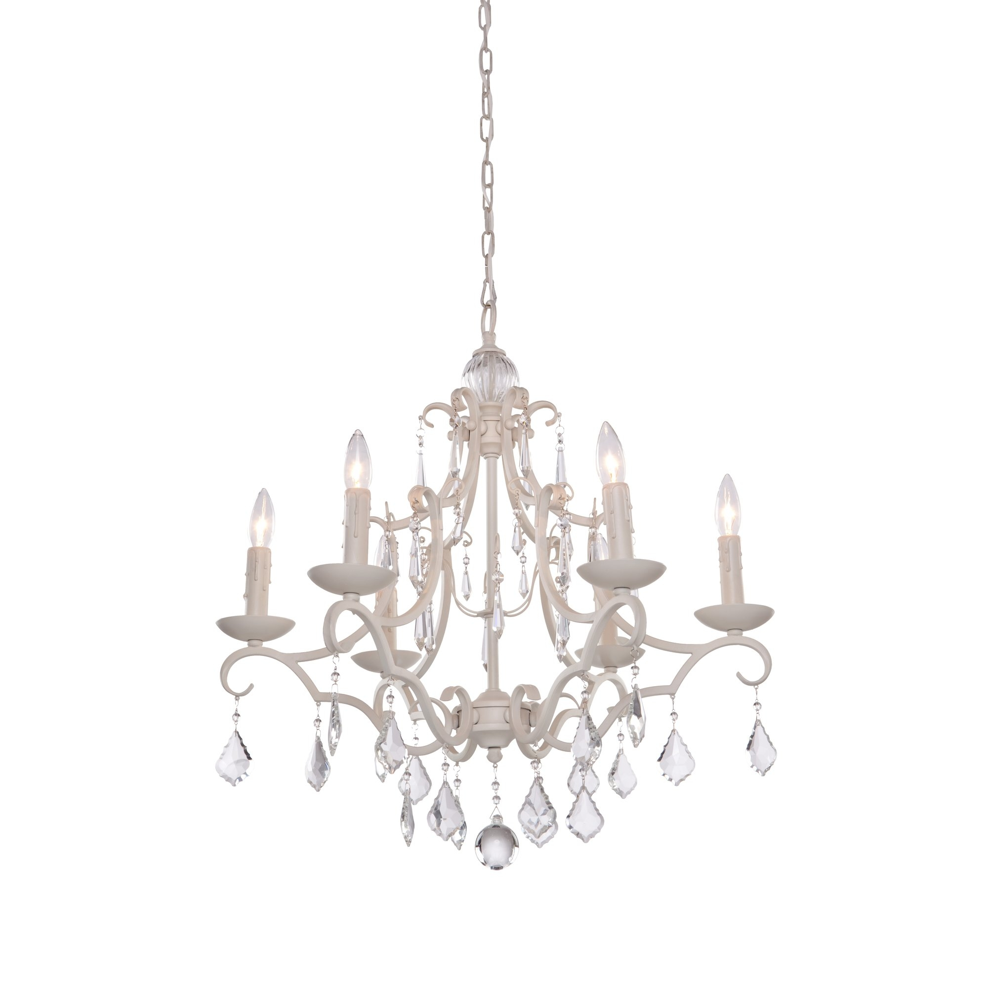 Artcraft Lighting Vintage 6 Light Candle Style Chandelier In Vintage Style Chandelier (Image 5 of 15)