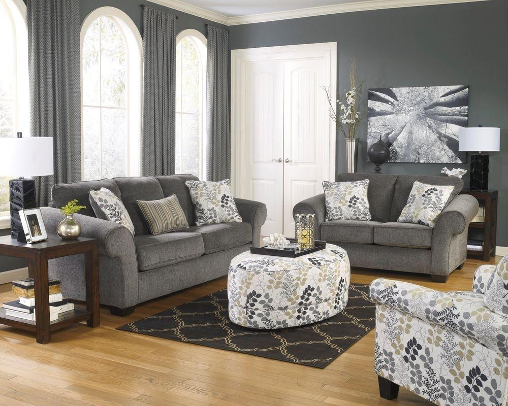 Ashley Furniture Sofa Sets Ebay With Ashley Furniture Gray Sofa (Image 6 of 15)