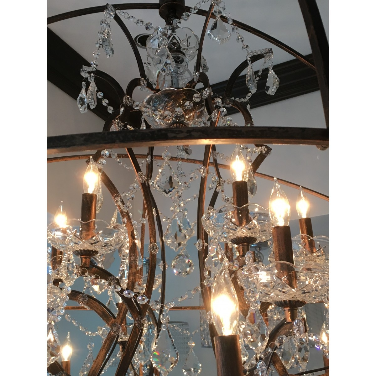 Aspasia Of Athens Ii 25 Lights Solaris Crystals Oversized For Oversized Chandeliers (View 9 of 15)