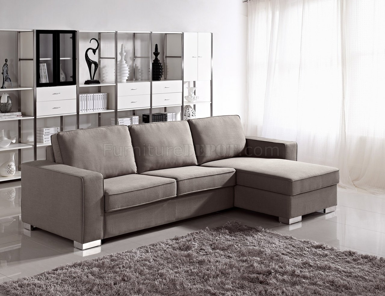 Eco Friendly Sectional Sofa Keaton Chenille Eco Friendly