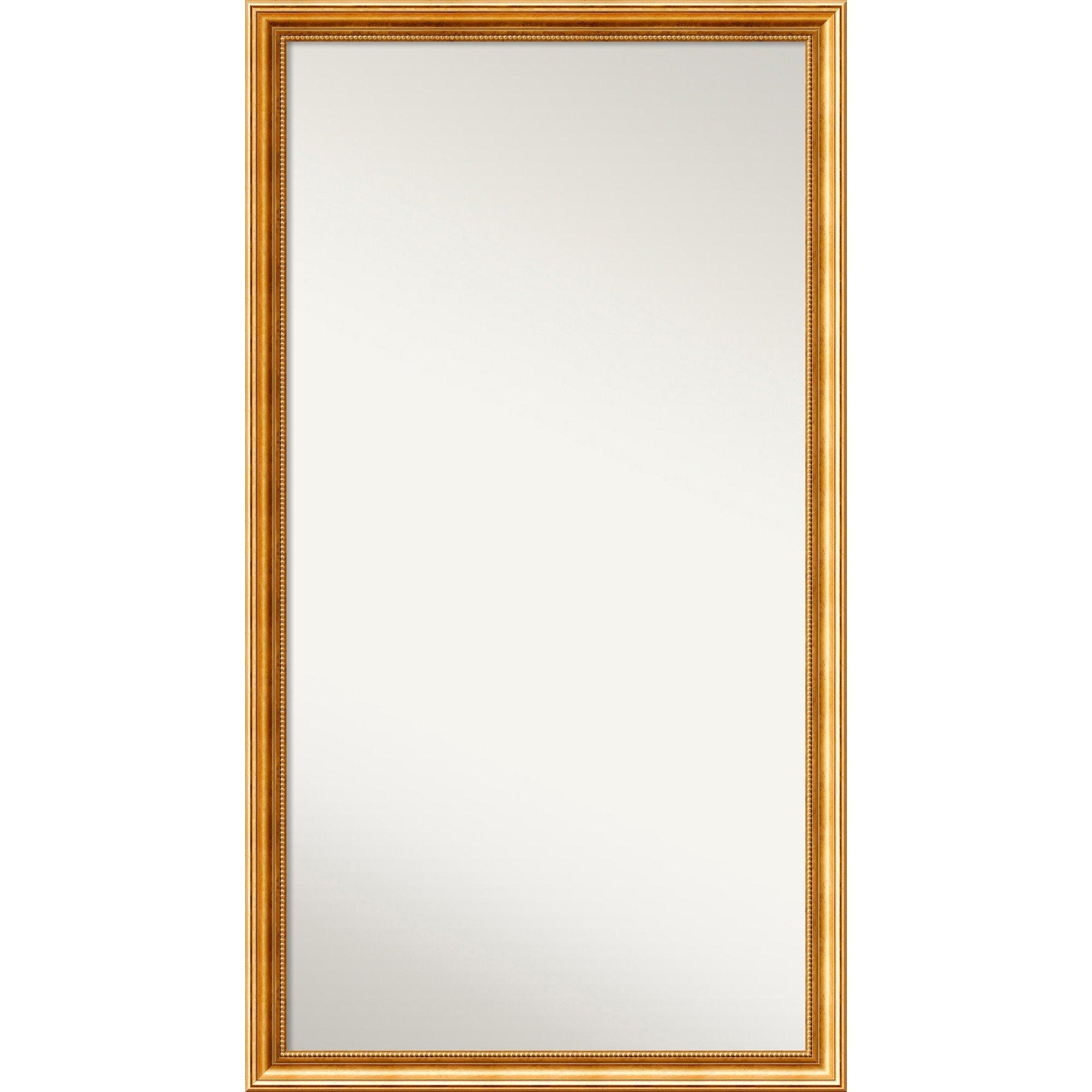 Astoria Grand Gold Framed Full Length Mirror Wayfair Inside Full Length Gold Mirror (Image 2 of 15)
