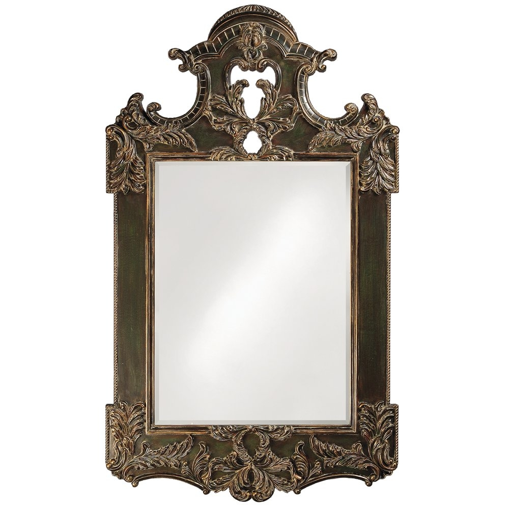Featured Image of Antique Black Mirror