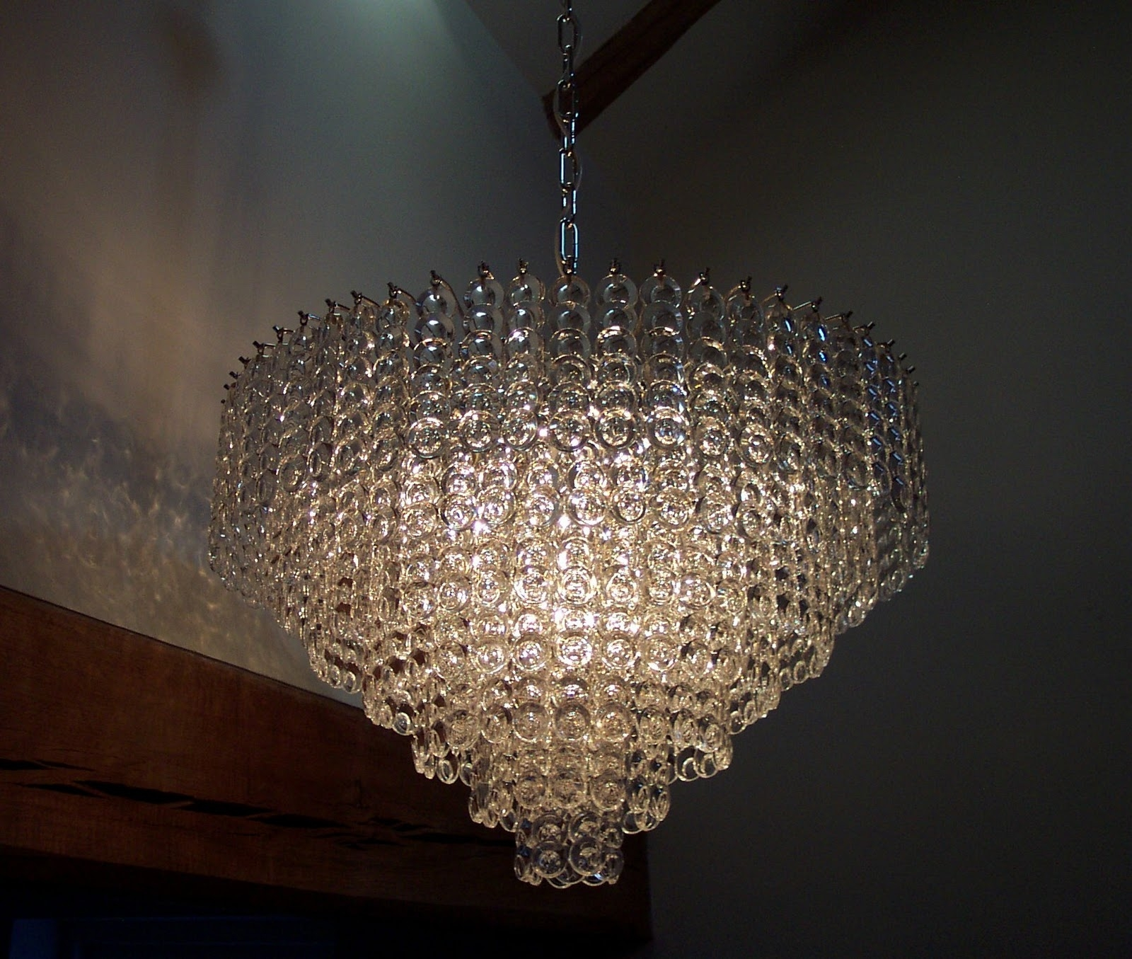 Attractive Contemporary Lighting Chandeliers 1000 Images About In Large Glass Chandelier (View 11 of 15)