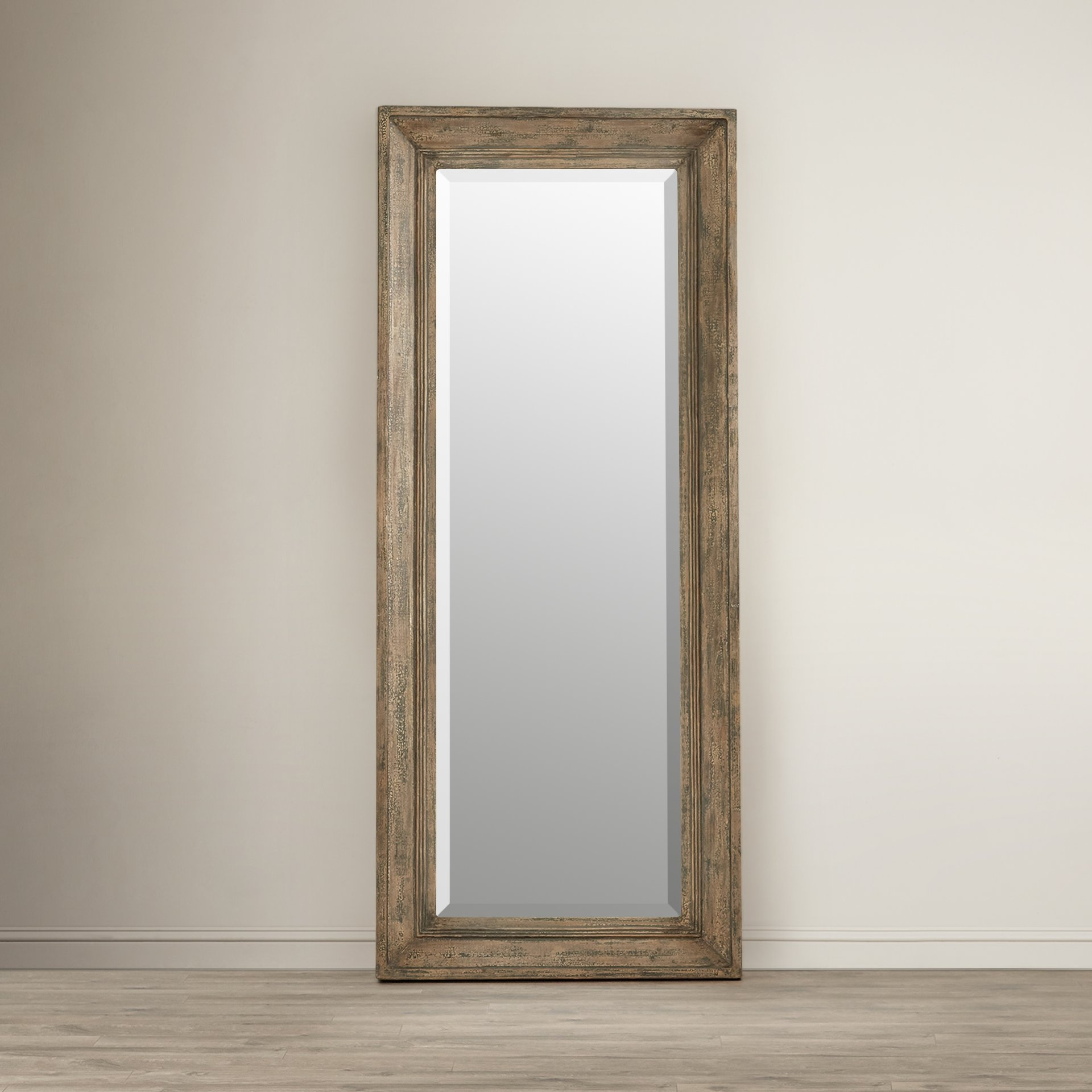August Grove Thompson Leaner Mirror Reviews Wayfair Pertaining To Ornate Leaner Mirror (Image 1 of 15)