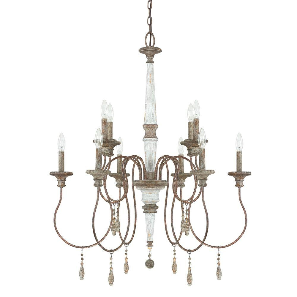 Austin Allen Co 10 Light French Antique Chandelier 9a195a The Pertaining To French Antique Chandeliers (Image 6 of 15)