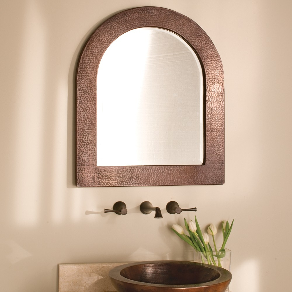 Awesome Bathroom With Arched Mirrors 43 About Remodel With For Arched Mirrors (Image 7 of 15)