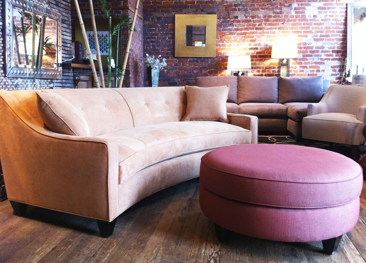 Awesome Curved Sectional Sofas For Small Spaces 3849 Furniture Within Cool Small Sofas (Image 5 of 15)