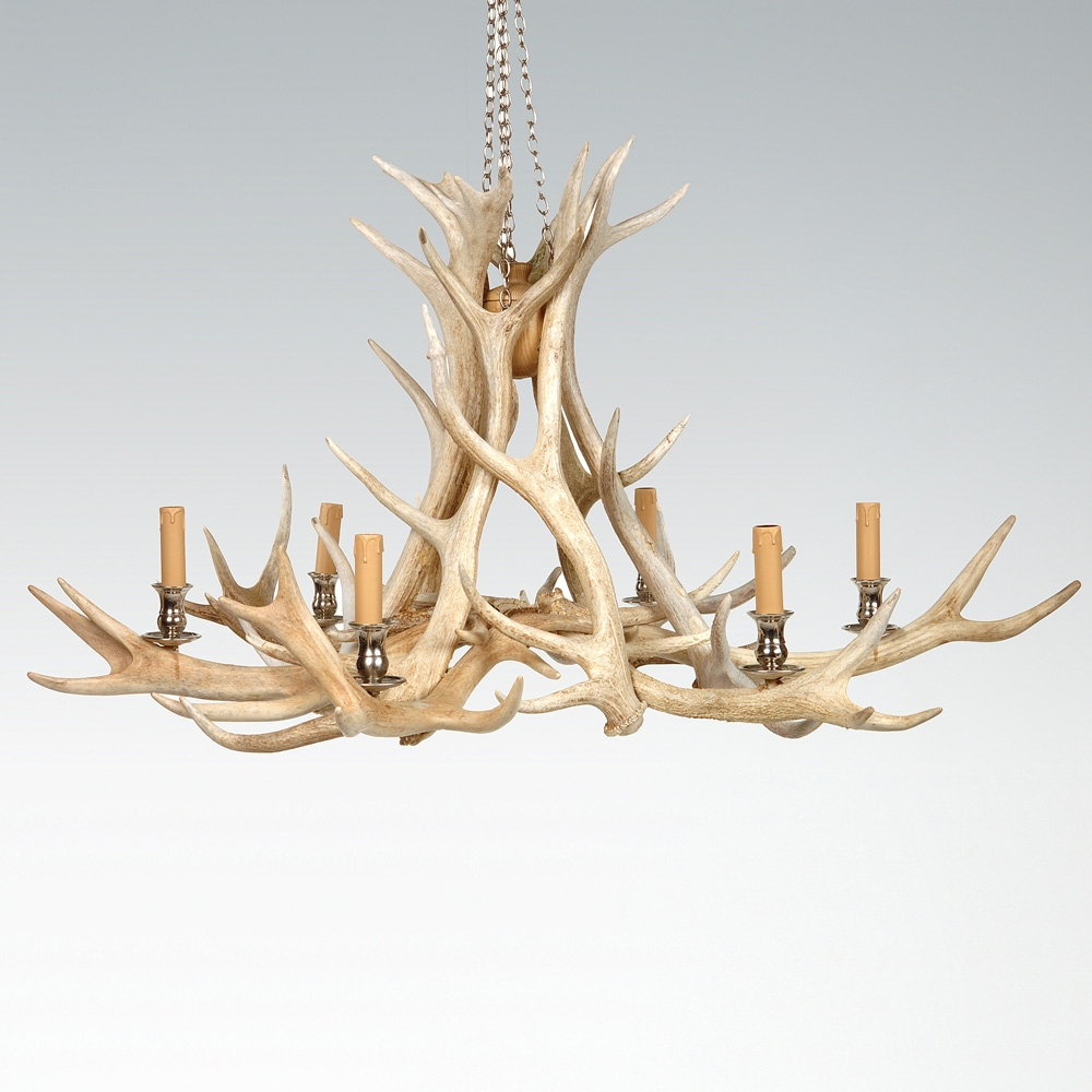 Awesome White Antler Chandelier Uk 39 White Faux Antler Chandelier With White Antler Chandelier (Image 3 of 15)
