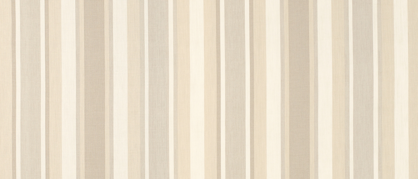 Awning Stripe Natural Cottonlinen Curtain Fabric At Laura Ashley In Natural Fabric Curtain (Image 2 of 15)