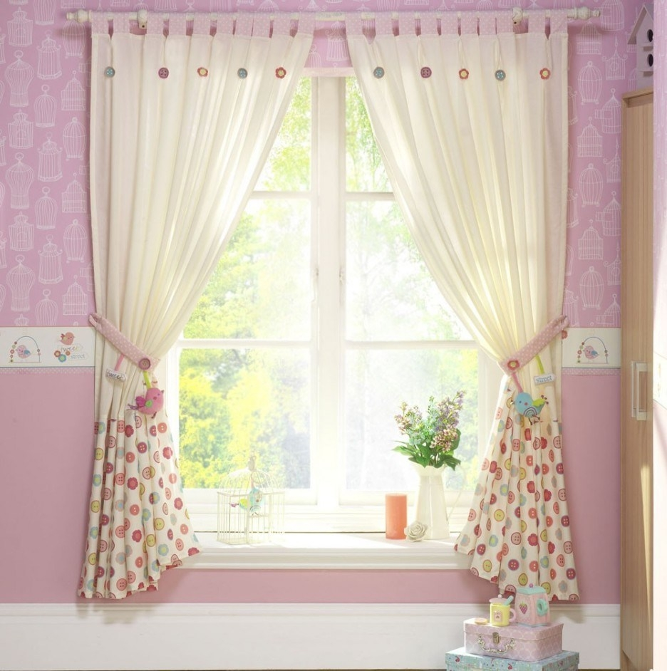 Ba Nursery Curtains Window Treatments In Nursery Curtains (Image 4 of 15)