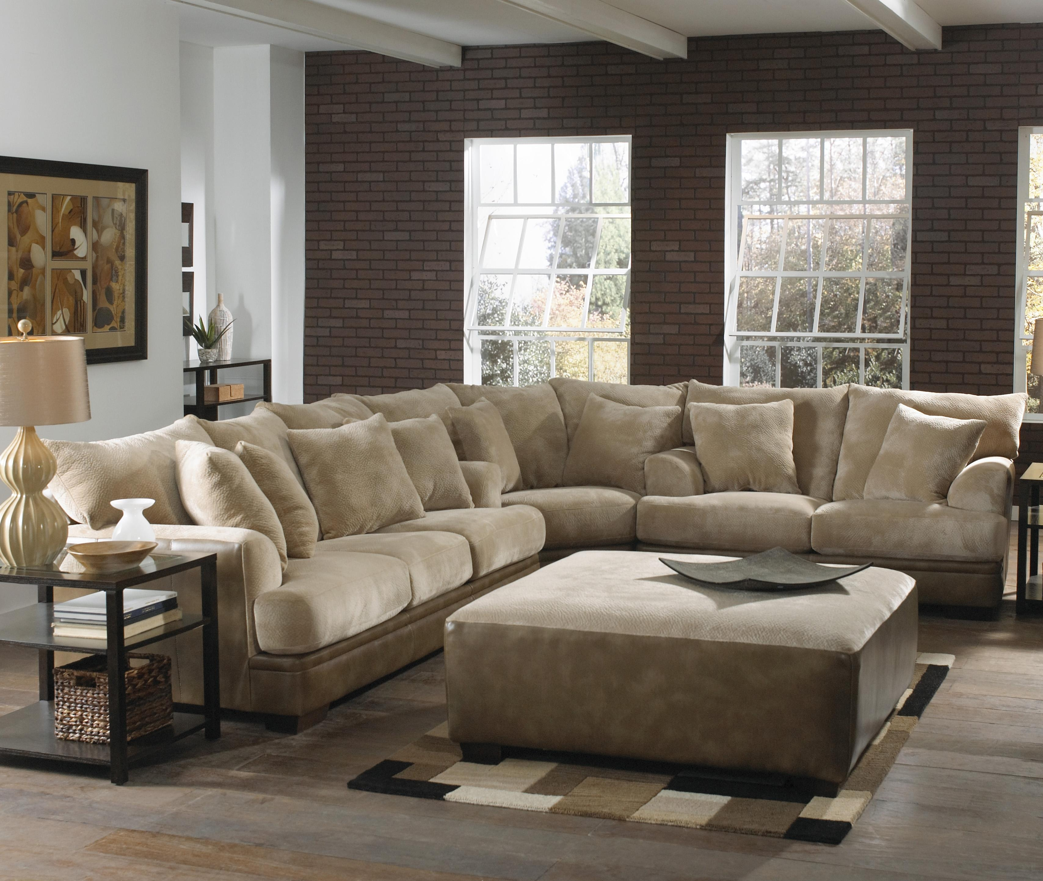 Barkley Large L Shaped Sectional Sofa With Right Side Loveseat Pertaining To Comfy Sectional Sofa (Image 1 of 15)