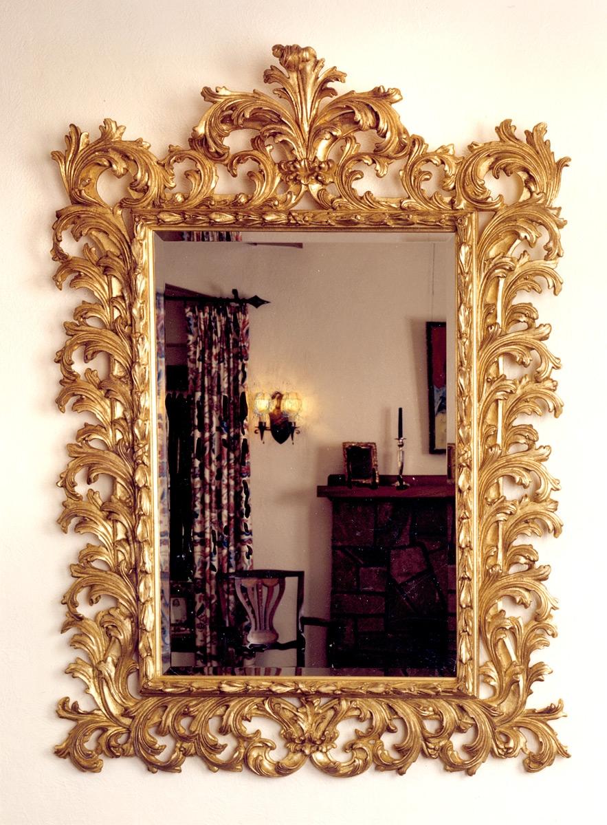 Baroque Carvers Guild In Baroque Mirror (Image 2 of 15)