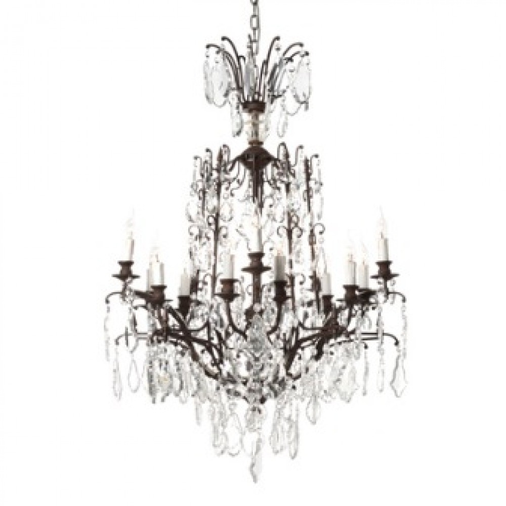 Baroque Chandelier Halo Living For Baroque Chandelier (Image 2 of 15)