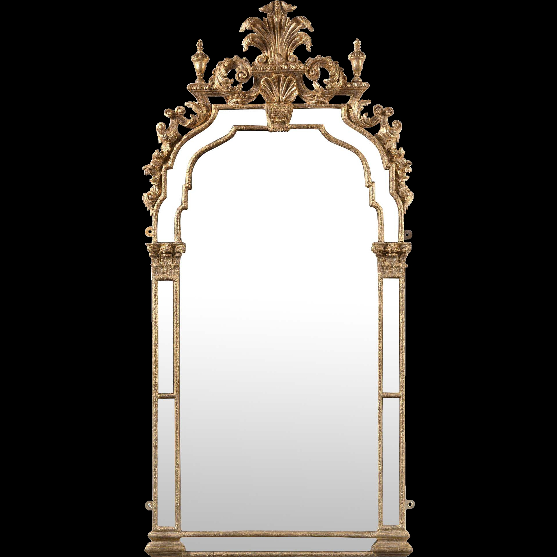 Baroque Mirror From Clinton Howell On Rulux In Baroque Mirror (Image 5 of 15)