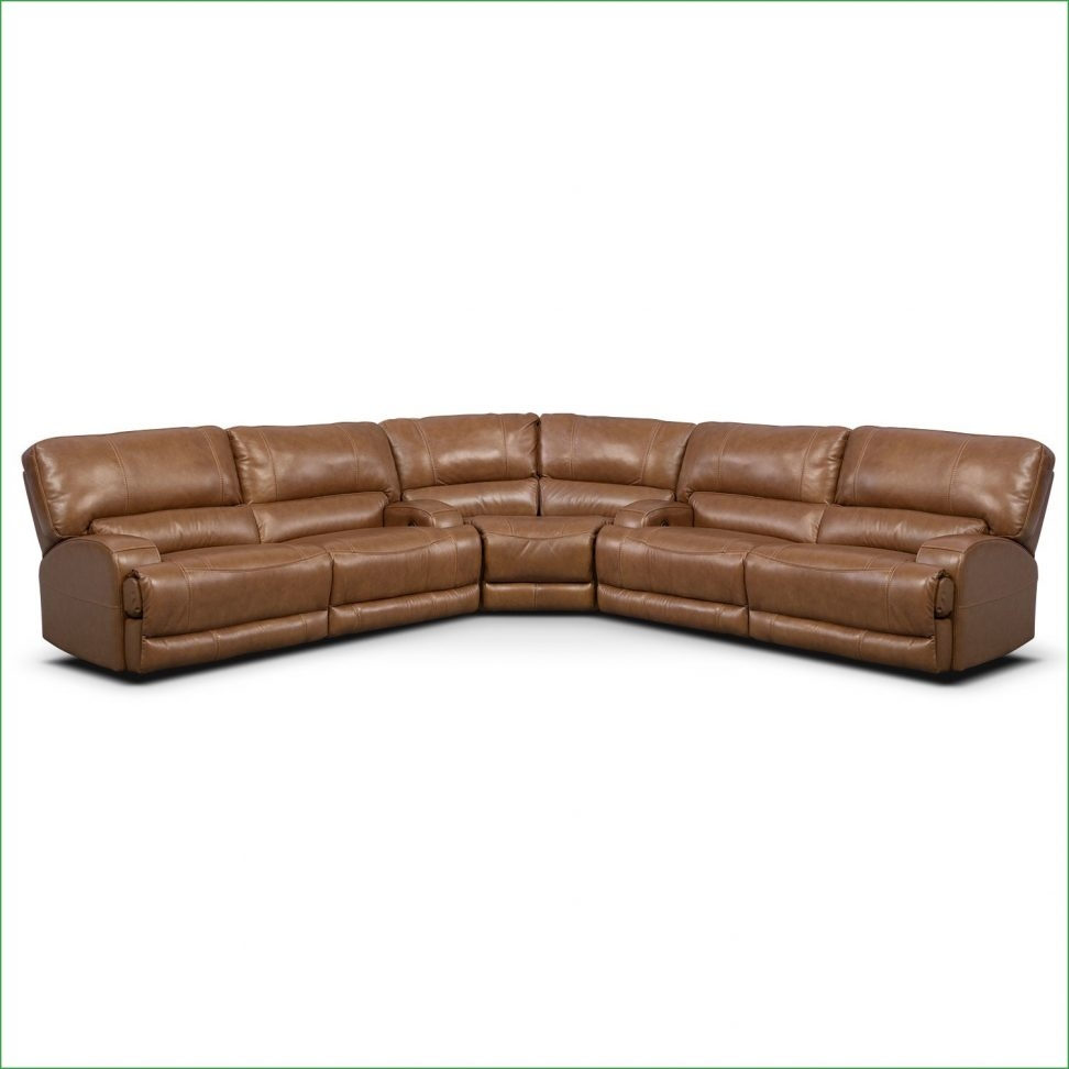 Barton 3 Piece Power Reclining Sectional Camel One80 Camel Intended For Camel Colored Sectional Sofa (Image 2 of 15)