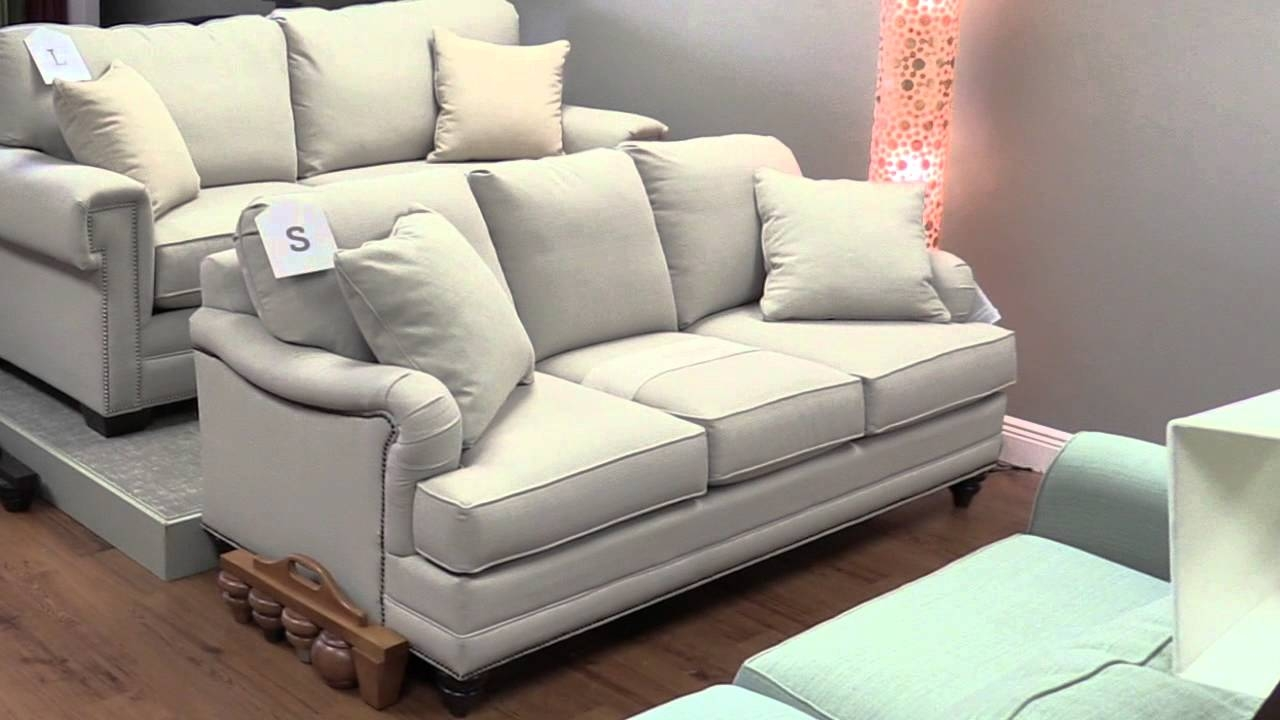 Bassett Custom Furniture Couch Sofa Loveseat Recliners Pinellas Throughout Bassett Sofa Bed (Image 1 of 15)