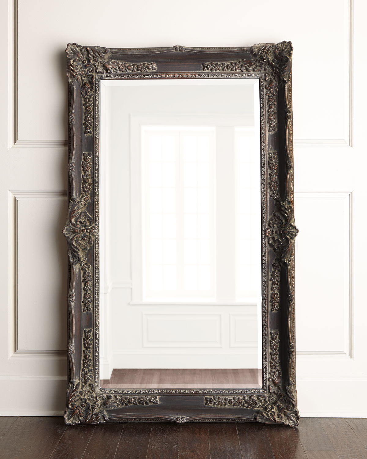 Bassett Mirror Inc Antique French Floor Mirror Home With Regard To French Floor Mirrors (Image 3 of 15)