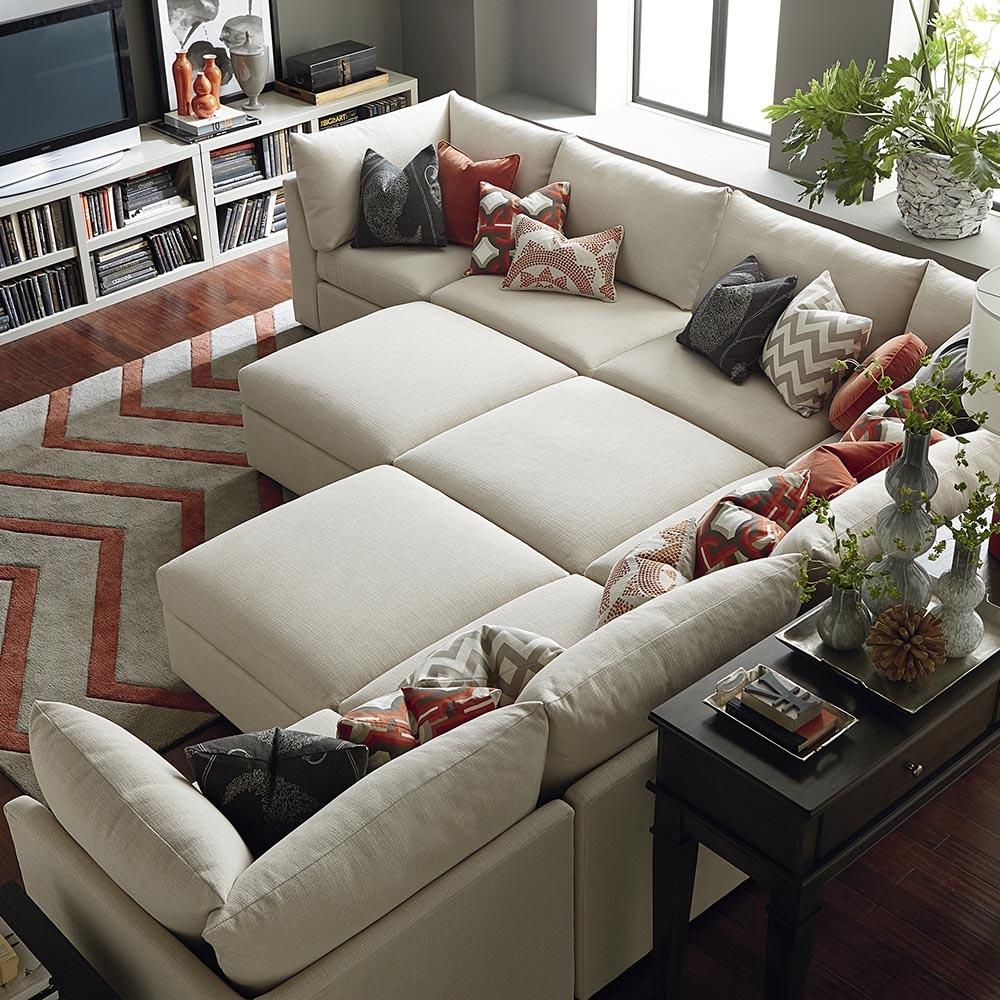 Bassett Sectional Sofa Within Bassett Sectional Sofa (View 8 of 15)