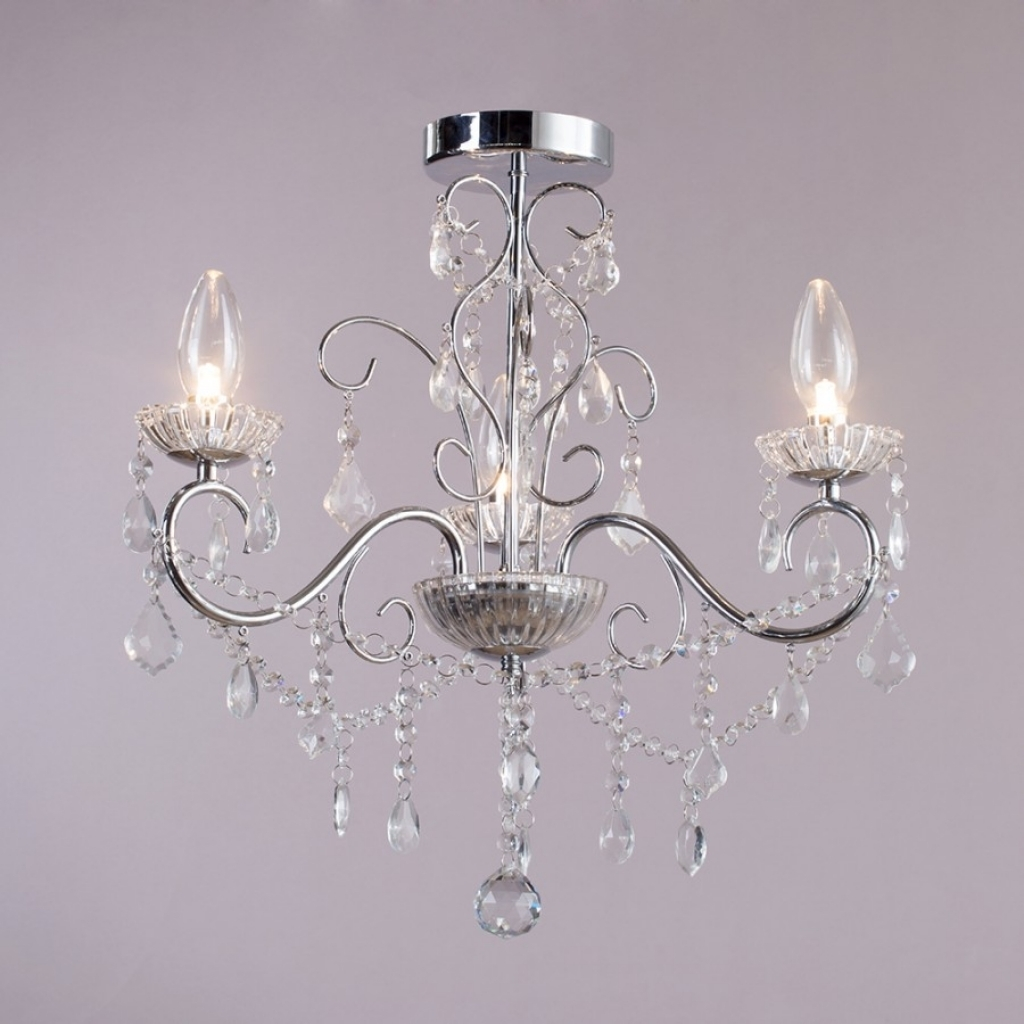 Bathroom Chandeliers Home Design Pertaining To Bathroom Chandeliers (View 10 of 15)