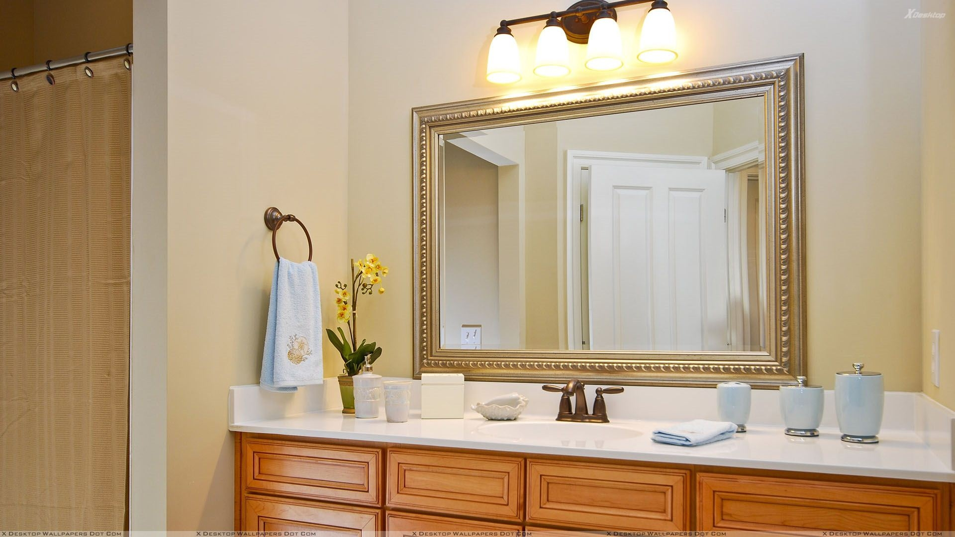 Bathroom Design Rectangular Frameless Bathroom Mirror With Inside Silver Bathroom Mirror Rectangular (Image 1 of 15)