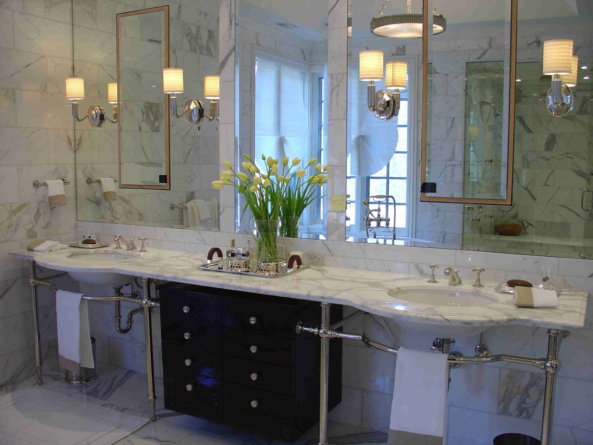 Bathroom Mirrors Art Deco Home For Deco Bathroom Mirror (Image 7 of 15)