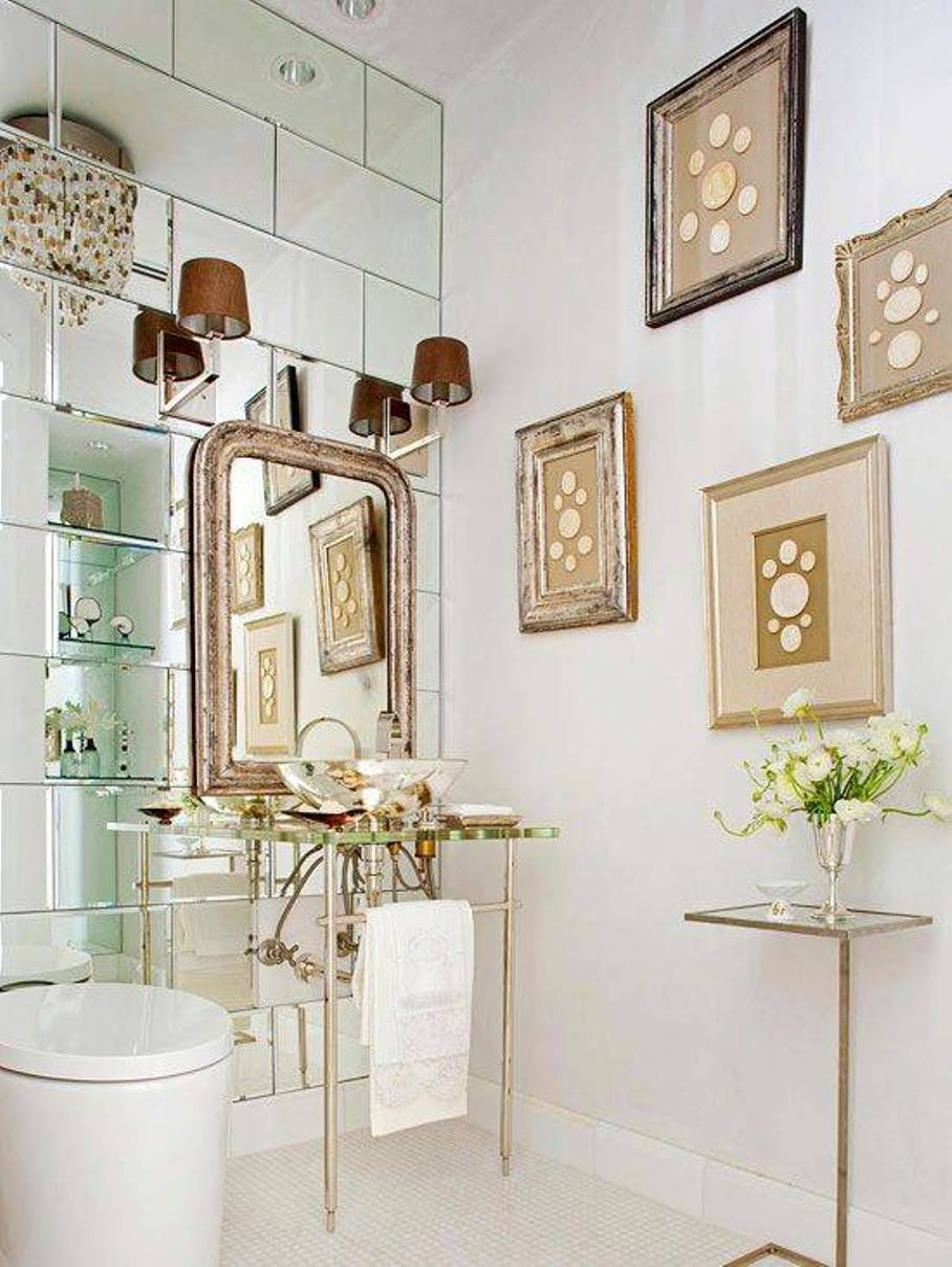 Bathroom Mirrors Art Deco Home With Regard To Art Deco Style Bathroom Mirrors (Image 8 of 15)