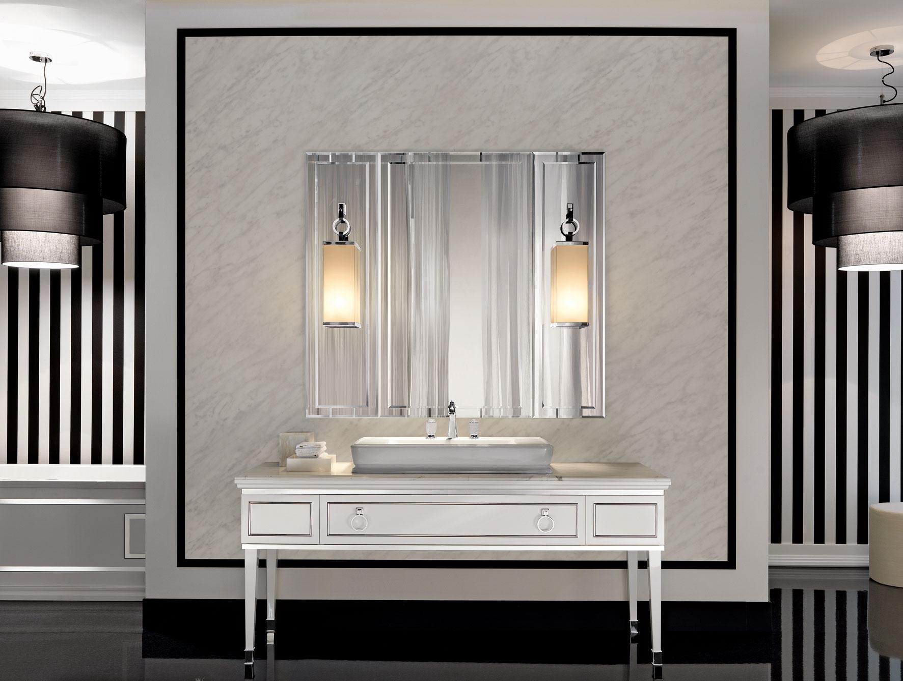 Bathroom Original Style Artworks Mackintosh Bathroom Art Deco Pertaining To Art Deco Style Bathroom Mirrors (View 12 of 15)
