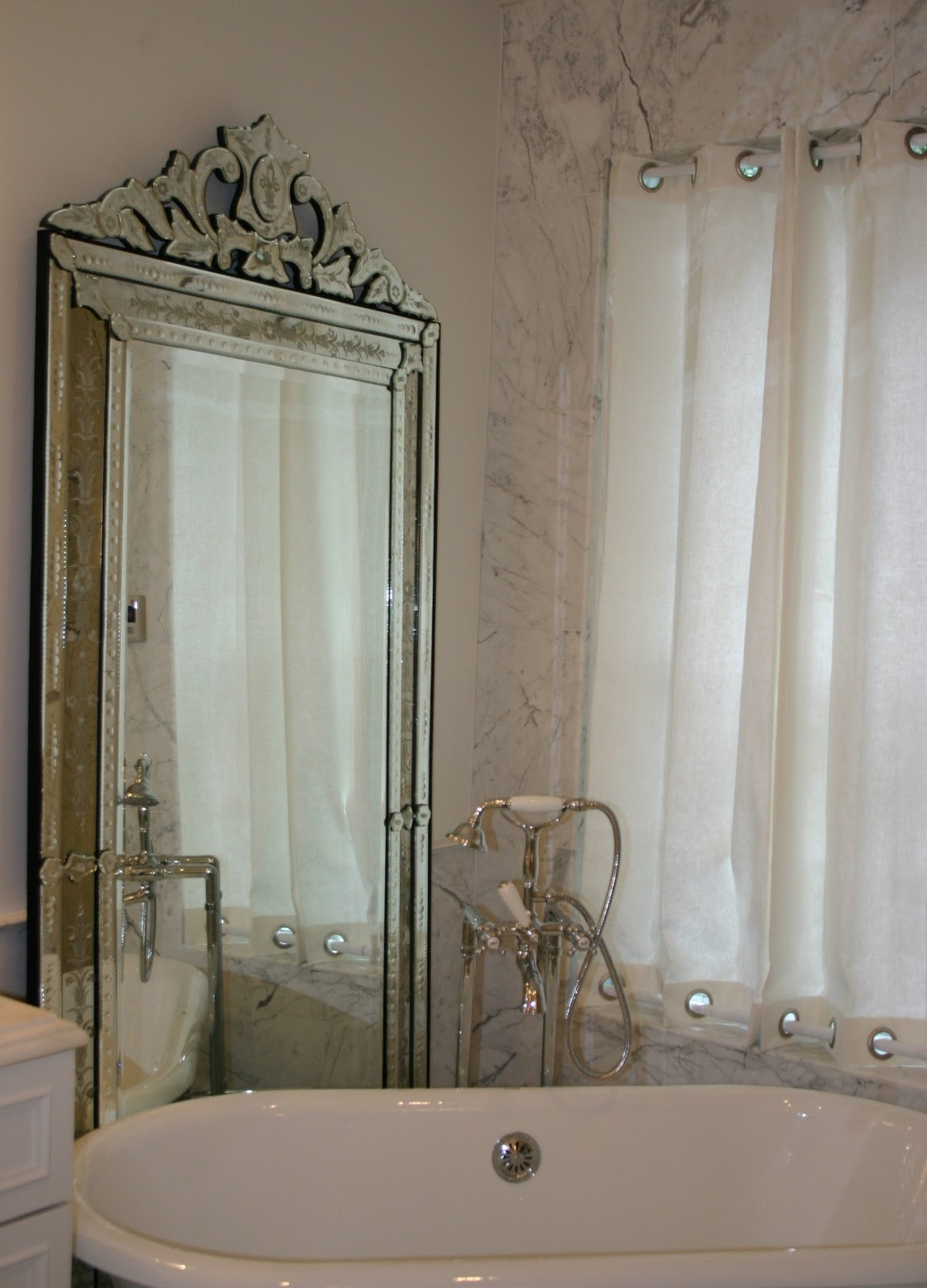 Bathroom Silver Mirror Moncler Factory Outlets With Regard To Venetian Bathroom Mirror (Image 5 of 15)
