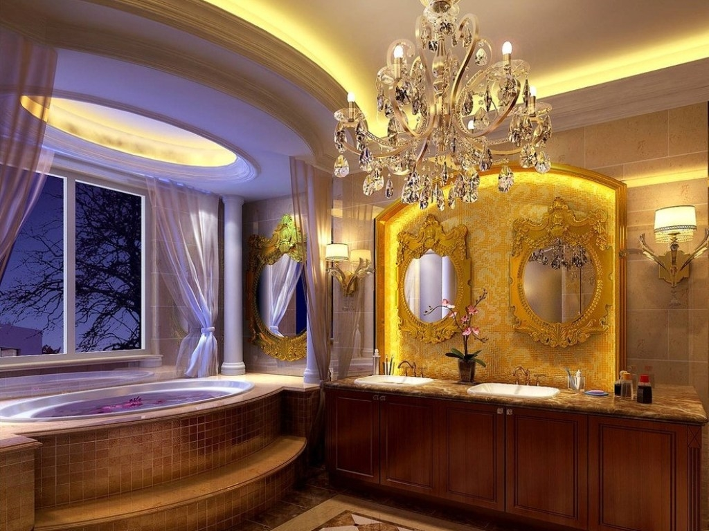 Bathroom Vanities Chandeliers For Sale Online Wonderful European In Bathroom Chandeliers Sale (Image 3 of 15)