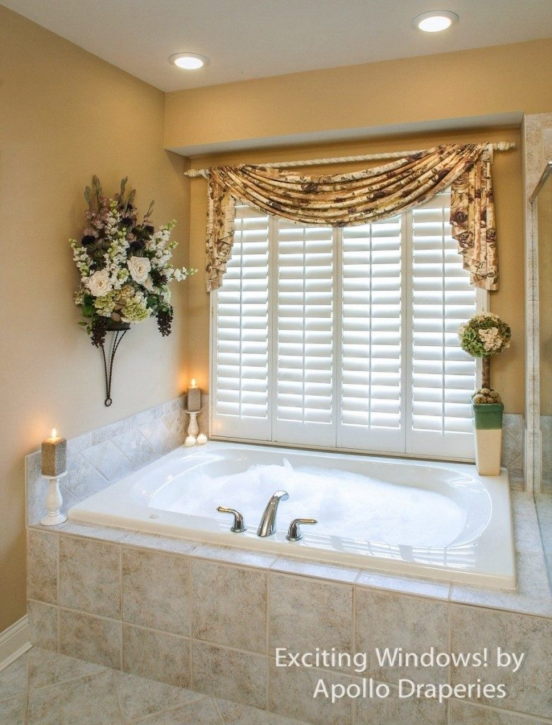 Bathroom Window Curtains For Small Windows 2016 Bathroom Ideas Inside Curtains For Bathrooms Windows (Image 3 of 15)