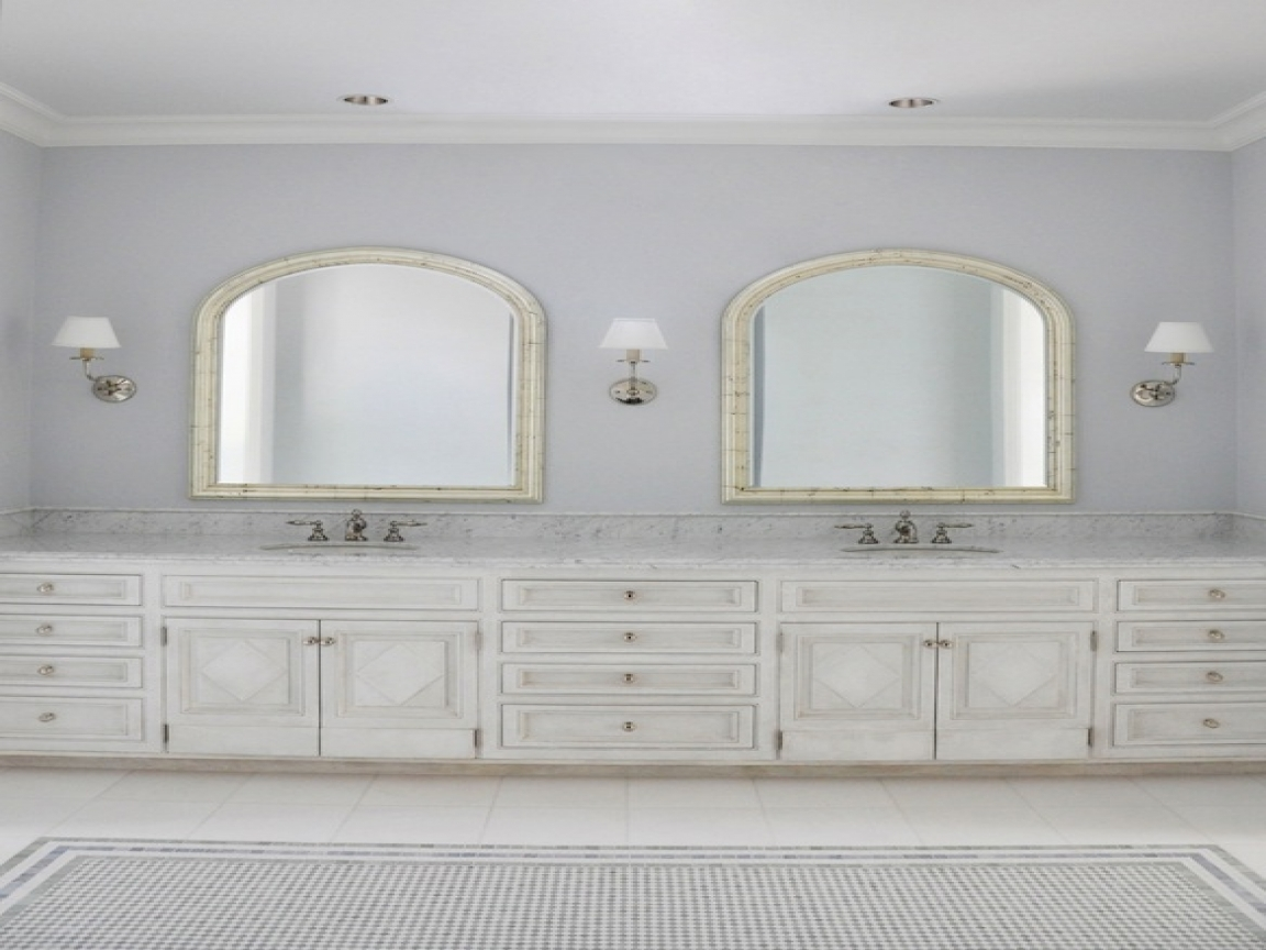 Bathroom With Arched Mirrors Home Intended For Arched Mirrors Bathroom (Image 11 of 15)